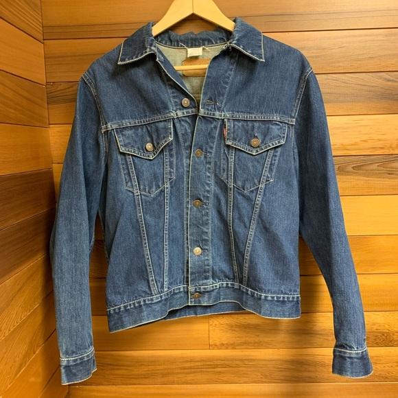 Levi's Vintage Original Denim Jean Trucker Jacket